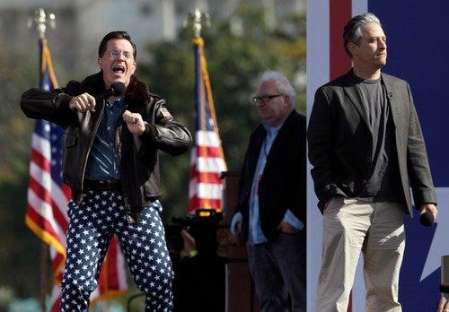 Jon Stewart Would Beat Stephen Colbert in a Presidential Election