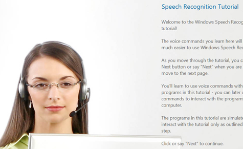 Learn to use Vista's speech recognition