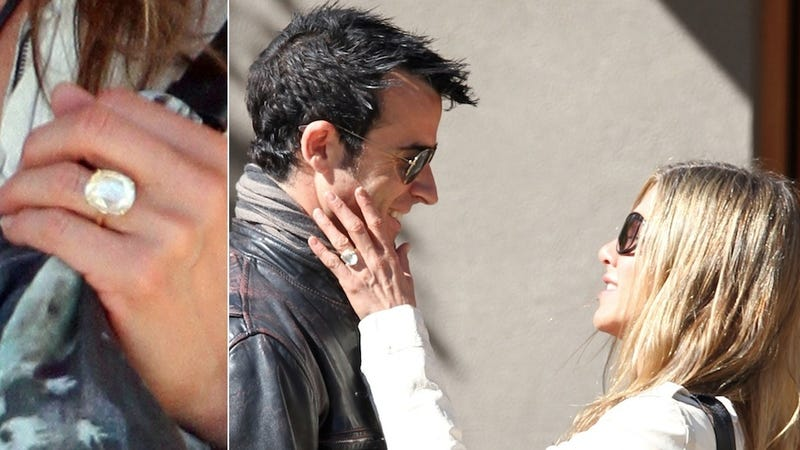 Your Giant Engagement Ring Looks Fucking Stupid, Jennifer Aniston