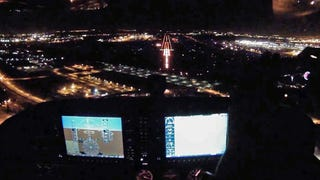 Landing A Tiny Plane At The World's Busiest Airport Is Awesome