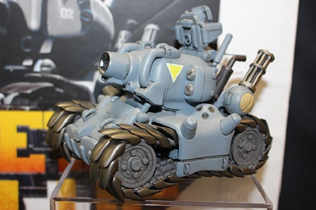 Metal Slug SV-001 Tank Model
