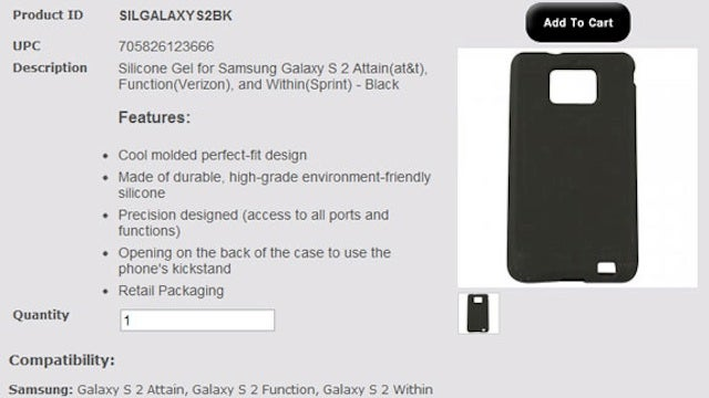 The Samsung Galaxy S II Is Going to Be Called Something Stupid