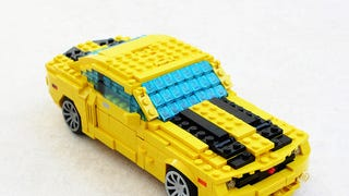 This Lego Chevy Camaro hides an excellent robotic secret