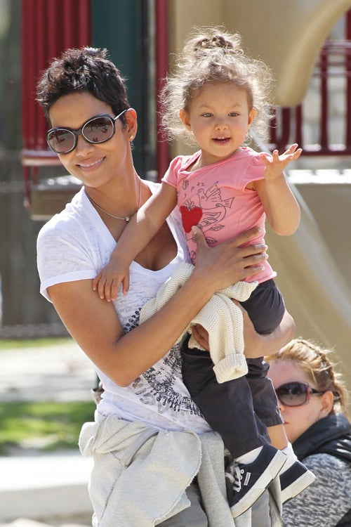 Halle & Ex Battle Over Baby; Rhys Meyers Goes To Rehab