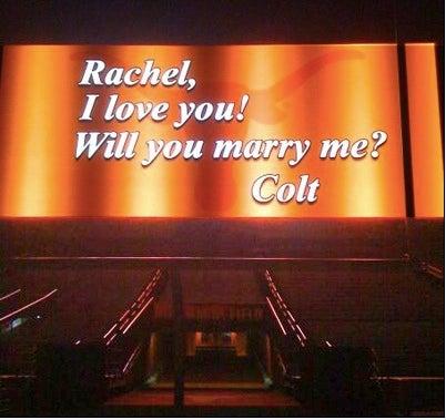 Colt McCoy's Proposal Is Hotter Than Shrimp Vindaloo