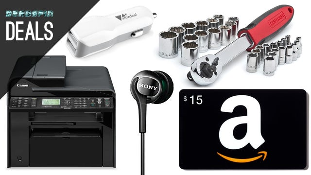 Deals: Buy $50 in Household Goods, Get a $15 Amazon Card