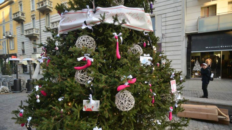 Help Save This Christmas Tree Decorated With Sex Toys