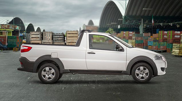 The Tiny Ram 700 Pickup Truck Can Carry More Than Half A Ton
