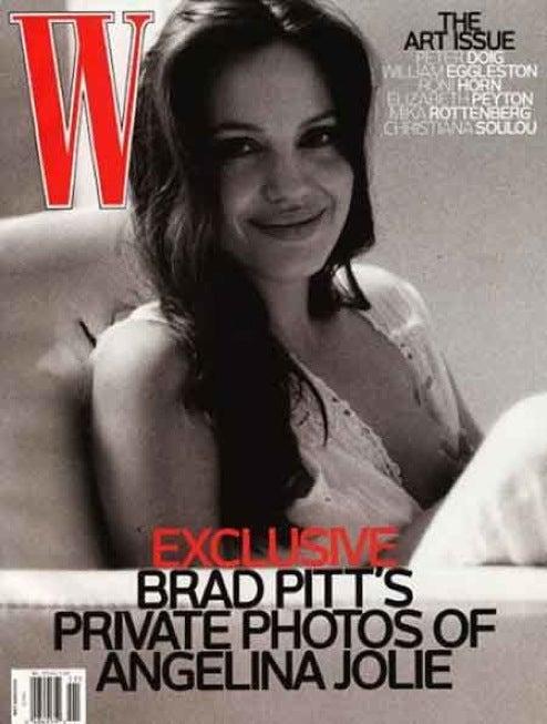 Angelina Jolie's Modest Breastfeeding Photo