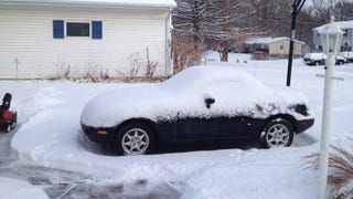 On Driving A Miata In Winter