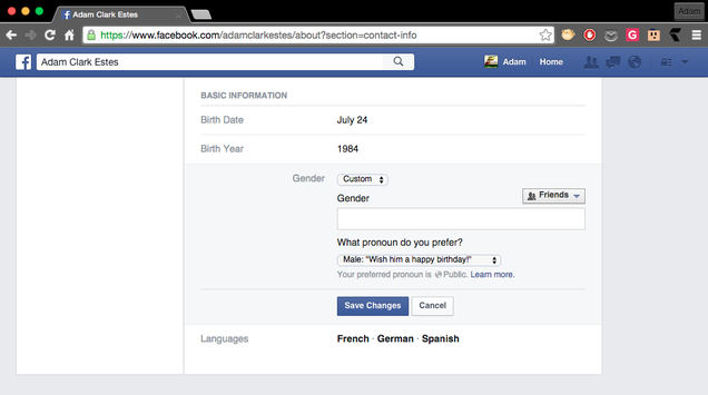 Facebook Finally Stops Trying To Restrict What Gender You Can Choose