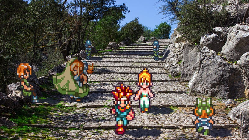 Real Life Photos Mixed With 16-Bit Video Games Are Amazing