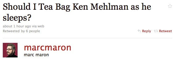 So a Comedian Sits Next to Former GOP Chairman Ken Mehlman on a Plane... (Updated)