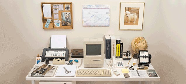 Remember When Your Desk Was Cluttered With Stuff You Actually Used?