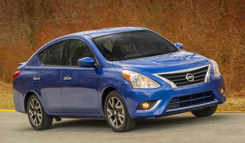 2015 Nissan Versa Now Has Indicators In Its Mirrors, Still Super Cheap
