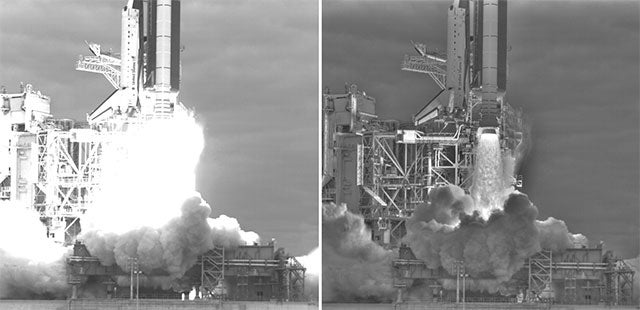 Last Space Shuttle Launch Captured in Stunning HDR