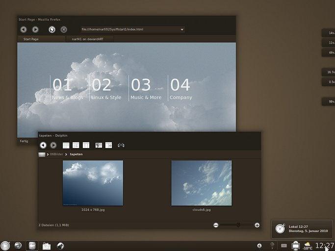 The ChoKolate Linux Desktop