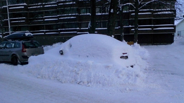 Swedish Man Found After Being Stuck In His Snow Covered Car For Two Months