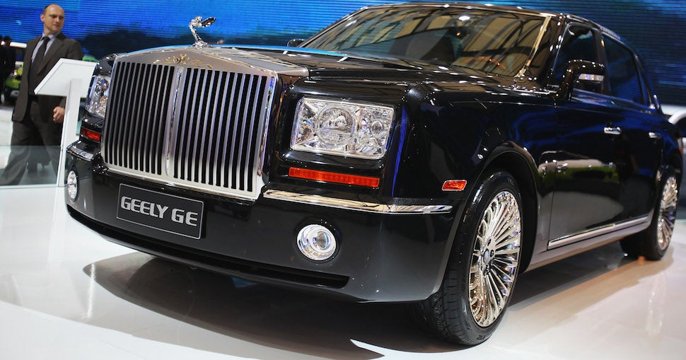 The Ten Greatest Chinese Knockoff Cars Ever Made