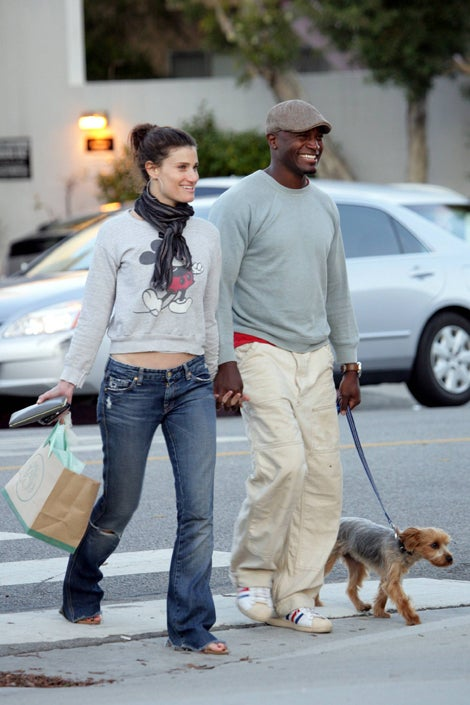 Idina, Taye & Their Mighty Mutt