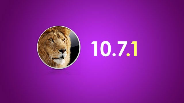 Apple's Lion 10.7.1 Update Fixes a Few Tiny Bugs