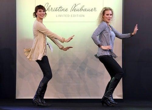 German Models Get Up, Down, Funky, Loose