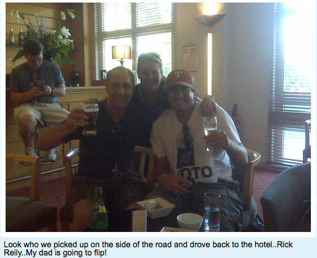 Rick Reilly® Celebrates After Scoring Big Interview With Lance Armstrong's Ass