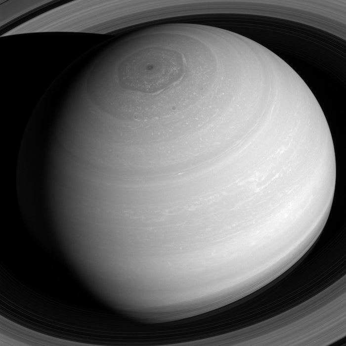 Saturn Looks Magnificent From Above