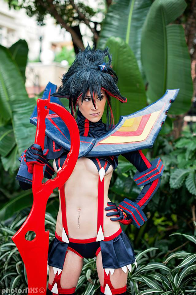 Ryuko Matoi from 'Kill la Kill' Looks Stunning