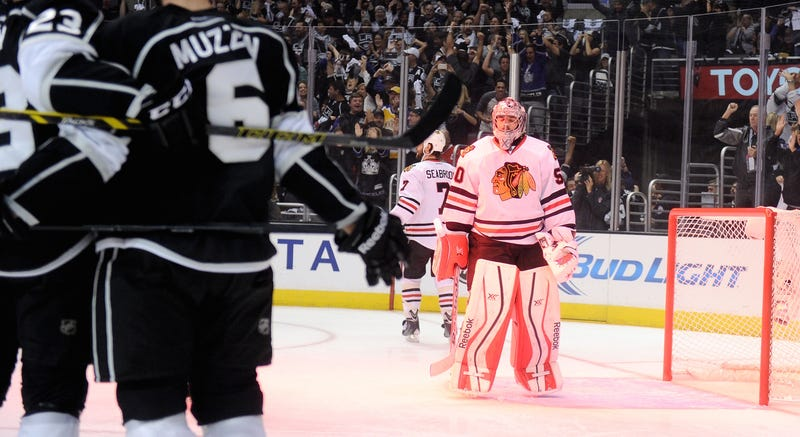 Awful-Sounding Kings Fan Files Police Report Against Corey Crawford