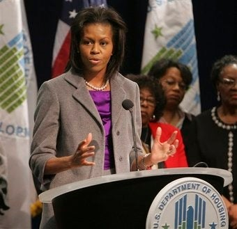 Michelle Obama: Mom In Chief? Or Part Of The Administration?