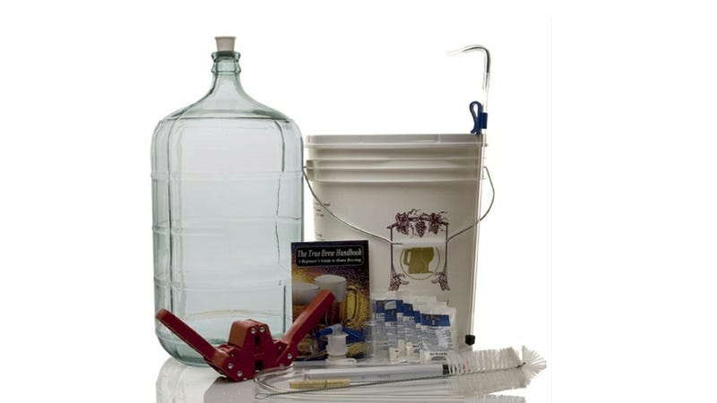 Crack Open a Six Pack Of Your Own Creation With a Home Brewing Kit