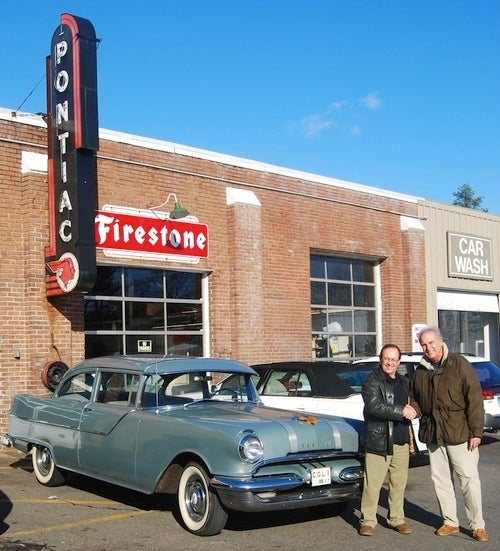 Man Reunites With Long-Lost 1955 Pontiac