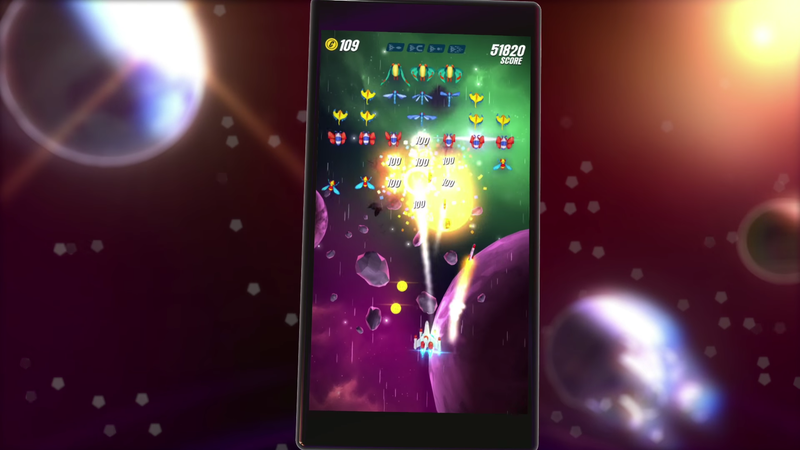 Galaga Wars Is A Fine Way To Update An Arcade Classic