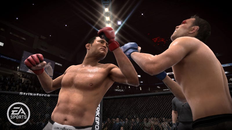 EA Sports MMA Realistically Presents Bodily Fluids in Real Time