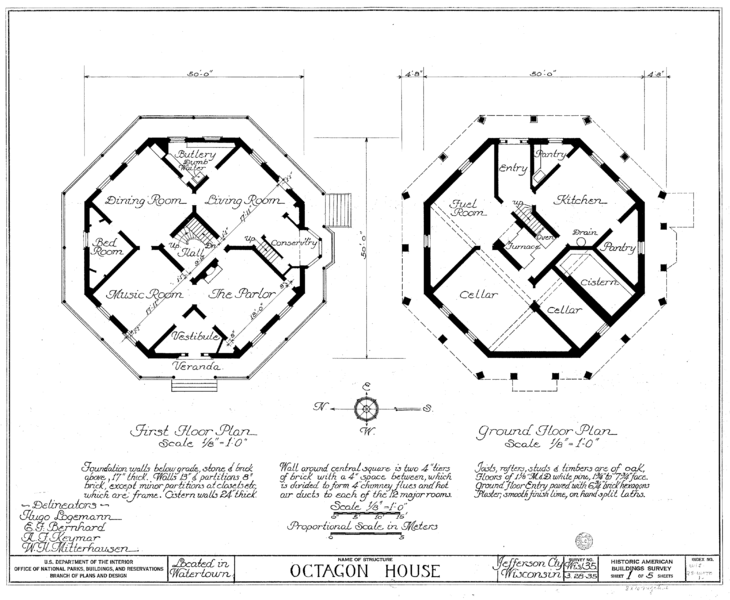When Vegetarians Tried To Build A Utopia of Octagonal Houses in Kansas
