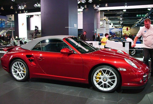 2010 Porsche 911 Turbo Convertible: Now With 500 Toupeé-Dislodging Horses