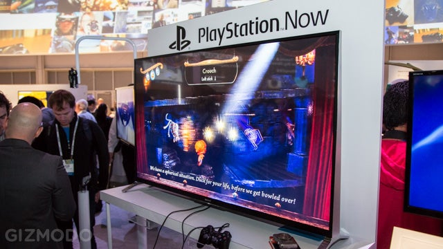PlayStation Now Hands On: Hey This Thing Actually Works