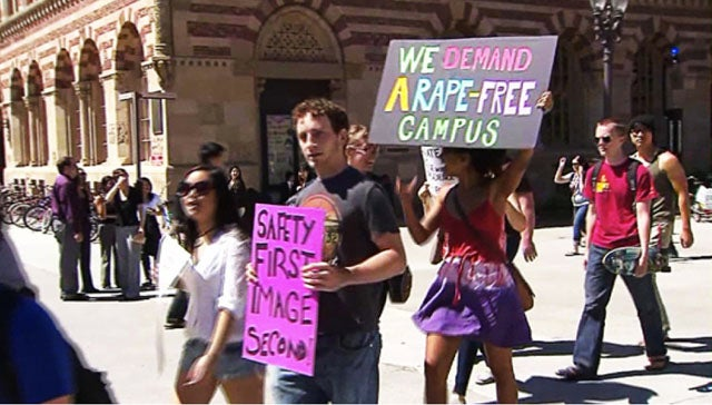 USC Students Protest Frat Email & Sexist Campus Culture