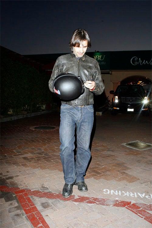 Olivier Martinez: Helmet Head