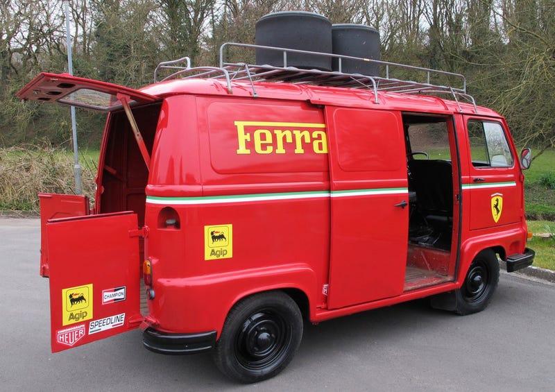 Niki Lauda's Ferrari Van From Rush Is Up For Grabs