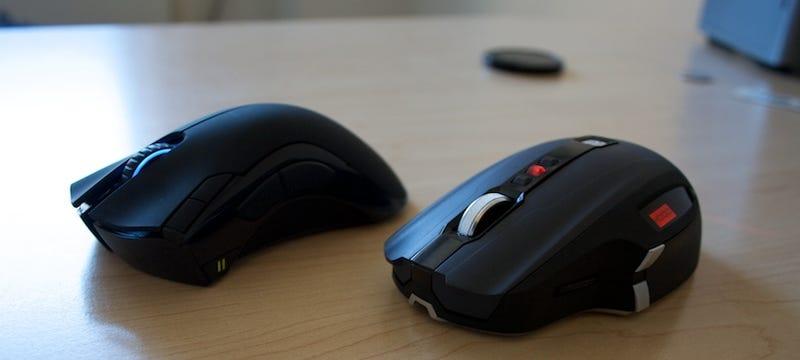 Razer Mamba vs. SideWinder X8: Wireless Gaming Mice Review