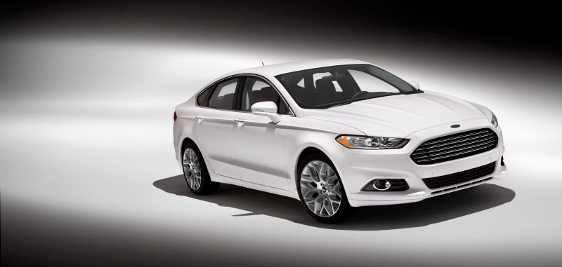 2013 Ford Fusion: First Photos