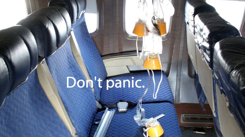 In-Flight Emergency: When the Masks Come Down