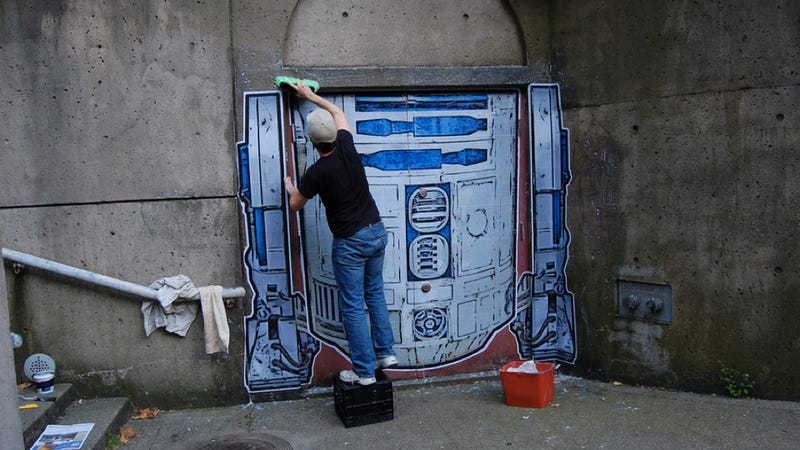 Vancouver's Finest R2D2 Art Installation
