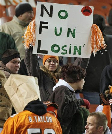 Browns Fans Know Understatement