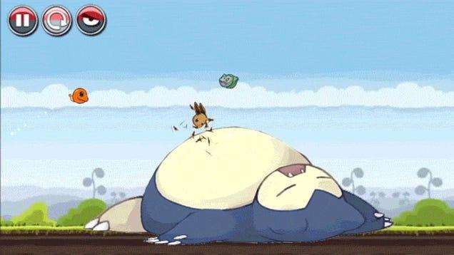 I Wish Angry Birds Pokémon Were Real