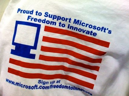 The Shirts Off of Microsoft's Back