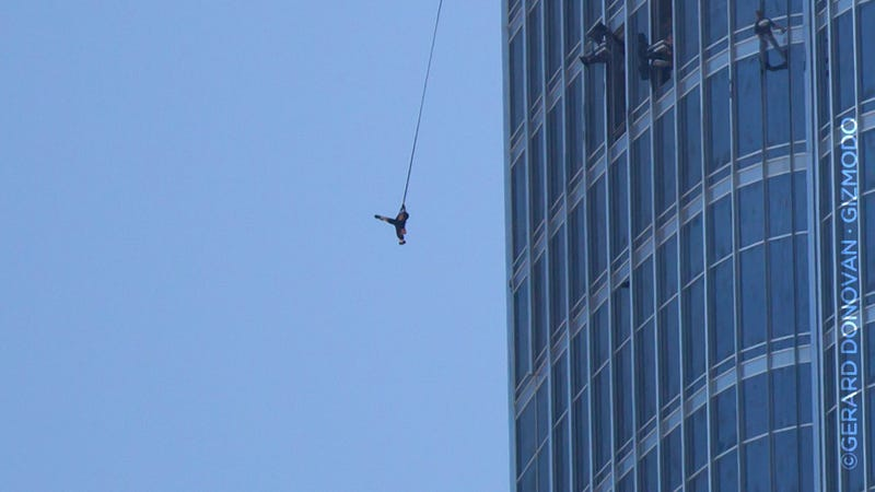 This Is Tom Cruise Jumping Off the Tallest Skyscraper In the World