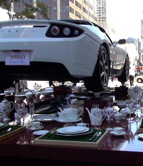 Tesla Tea Party: Cups Hold Up Heaping Helping Of Tesla